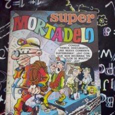 Tebeos: BRUGUERA - SUPER MORTADELO NUM. 78 ( 35 PTS.) . MUY NUEVO. Lote 243682545
