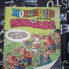 Tebeos: BRUGUERA - MORTADELO EXTRA MUNDIAL 82 ( 125 PTS.) .FORMATO PEQUEÑO RARO. Lote 243685800