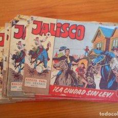 Tebeos: JALISCO COMPLETA ORIGINAL - 20 NÚMEROS - BRUGUERA - LEER DESCRIPCION (9Ñ2). Lote 243771720