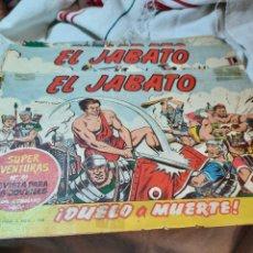 Tebeos: LOTE 123 COMICS EL JABATO, ORIGINALES. Lote 243790740