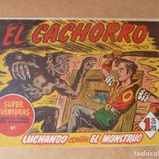 Tebeos: EL CACHORRO Nº 158, ORIGINAL, BRUGUERA. Lote 243805770