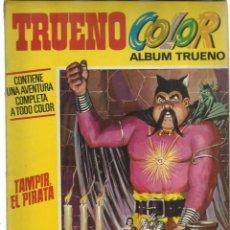 Tebeos: ÁLBUM TRUENO COLOR 27: TAMPIR EL PIRATA, 1972, BRUGUERA. Lote 243809120