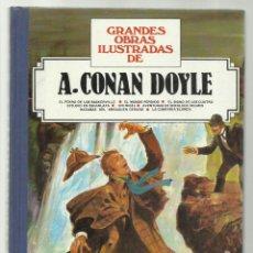 Tebeos: GRANDES OBRAS ILUSTRADAS 11, DE A.CONAN DOYLE, 1985, BRUGUERA, PRIMERA EDICIÓN, MUY BUEN ESTADO. Lote 243809515