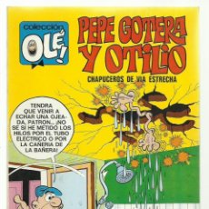 Tebeos: COLECCIÓN OLÉ 22: PEPE GOTERA Y OTILIO, 1971, BRUGUERA PRIMERA EDICIÓN, MUY BUEN ESTADO. Lote 243814795