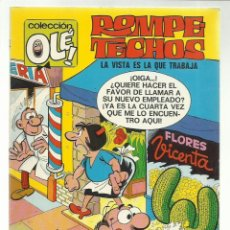 Tebeos: COLECCIÓN OLÉ 14: ROMPETECHOS, 1971, BRUGUERA, PRIMERA EDICIÓN, MUY BUEN ESTADO. Lote 243815130