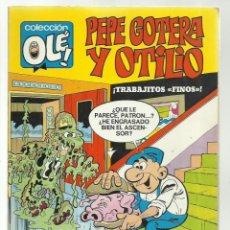 Tebeos: COLECCIÓN OLÉ 8: PEPE GOTERA Y OTILIO, 1971, BRUGUERA, PRIMERA EDICIÓN, BUEN ESTADO. Lote 243815660
