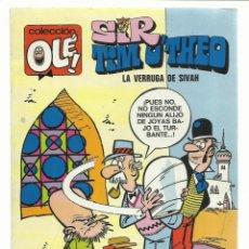Tebeos: COLECCIÓN OLÉ 73: SIR TIM O´THEO, 1973, BRUGUERA, PRIMERA EDICIÓN, MUY BUEN ESTADO. Lote 243816785
