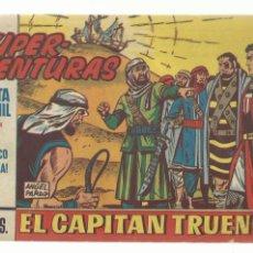 Tebeos: EL CAPITAN TRUENO 600, 1968, BRUGUERA, ORIGINAL, BUEN ESTADO. Lote 243900660