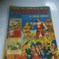 Tebeos: TEBEO. EL CAPITÁN TRUENO. 342. AÑO VII. EL FIN DE HORSO. BRUGUERA. Lote 243968850