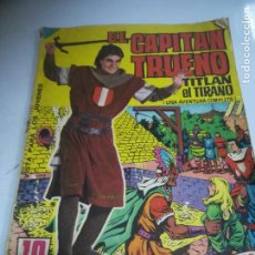 Tebeos: TEBEO. EL CAPITÁN TRUENO. ALBUM GIGANTE. Nº 9. TITLAN EL TIRANO. BRUGUERA. Lote 243972495