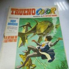 Tebeos: TEBEO. TRUENO COLOR. AVENTURAS DEL CAPITÁN TRUENO. AÑO I. Nº 9. LA REINA DE LOS PIRATAS. Lote 243977815