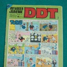 Tebeos: DDT Nº 18. EDITORIAL BRUGUERA.. Lote 243984370