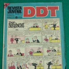 Tebeos: DDT Nº 4. EDITORIAL BRUGUERA.. Lote 243984570