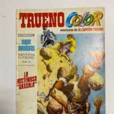 Tebeos: TRUENO COLOR. REVISTA JUVENIL Nº 1173. AÑO I. Nº 21 - LA MISTERIOSA OAXCALA. Lote 243994900