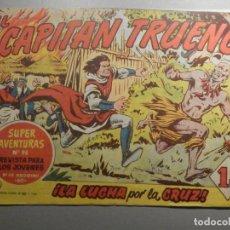 Tebeos: COMIC - EL CAPITAN TRUENO NÚMERO, Nº 114 - ¡LA LUCHA POR LA CRUZ! - BRUGUERA 9-12-1958, ORIGINAL. Lote 244203900
