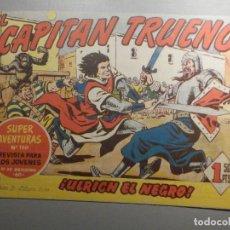 Livros de Banda Desenhada: COMIC - EL CAPITAN TRUENO NÚMERO, Nº 116 - ¡ULRICH EL NEGRO ! - BRUGUERA 22-12-1958, ORIGINAL. Lote 244279150