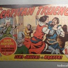 Tebeos: COMIC - EL CAPITAN TRUENO NÚMERO, Nº 118 - ¡LAS JAULAS DE KRAFFA ! - BRUGUERA 29-12-1958, ORIGINAL. Lote 244397705
