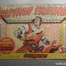 Tebeos: COMIC - EL CAPITAN TRUENO NÚMERO, Nº 121 - ¡DESQUITE ! - BRUGUERA 26-1-1959, ORIGINAL. Lote 244401985