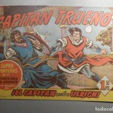 Livros de Banda Desenhada: COMIC - EL CAPITAN TRUENO NÚMERO, Nº 123 - ¡EL CAPITAN CONTRA ULRICH ! - BRUGUERA 2-2-1959, ORIGINAL. Lote 244405025