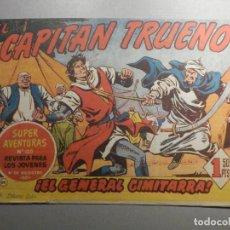Tebeos: COMIC - EL CAPITAN TRUENO NÚMERO, Nº 124 - ¡EL GENERAL CIMITARRA ! - BRUGUERA 16-2-1959, ORIGINAL. Lote 244405595