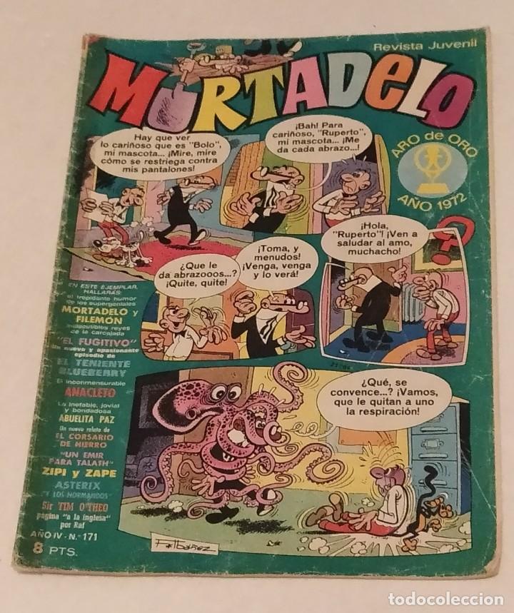 MORTADELO Nº 171 BRUGUERA. AÑO 1974 (Tebeos y Comics - Bruguera - Mortadelo)