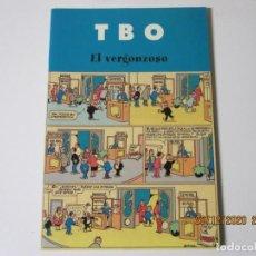 Tebeos: T B O EL VERGONZOSO EDICIONES B. Lote 244447405