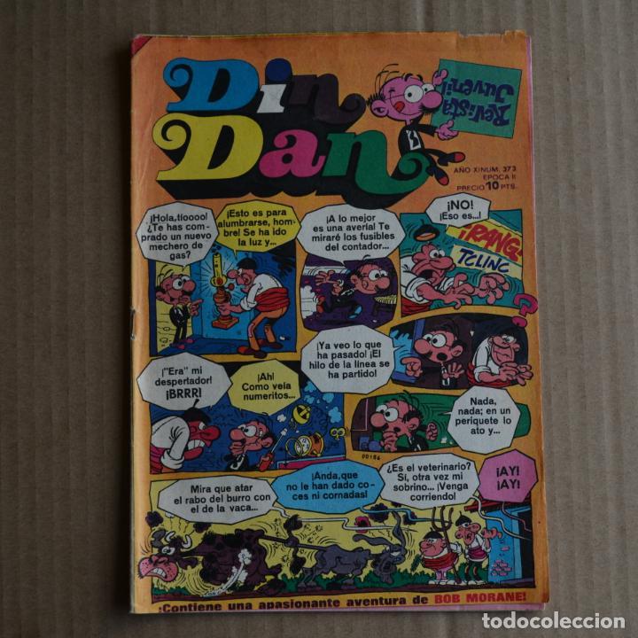 DIN DAN Nº 373. AÑO XI - EPOCA II. BRUGUERA 1975. LITERACOMIC. C2 (Tebeos y Comics - Bruguera - Din Dan)