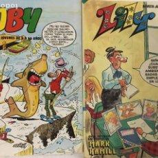 Tebeos: LOTE DE DOS TEBEOS – TOBY – LILY – AÑOS 80.. Lote 244504165