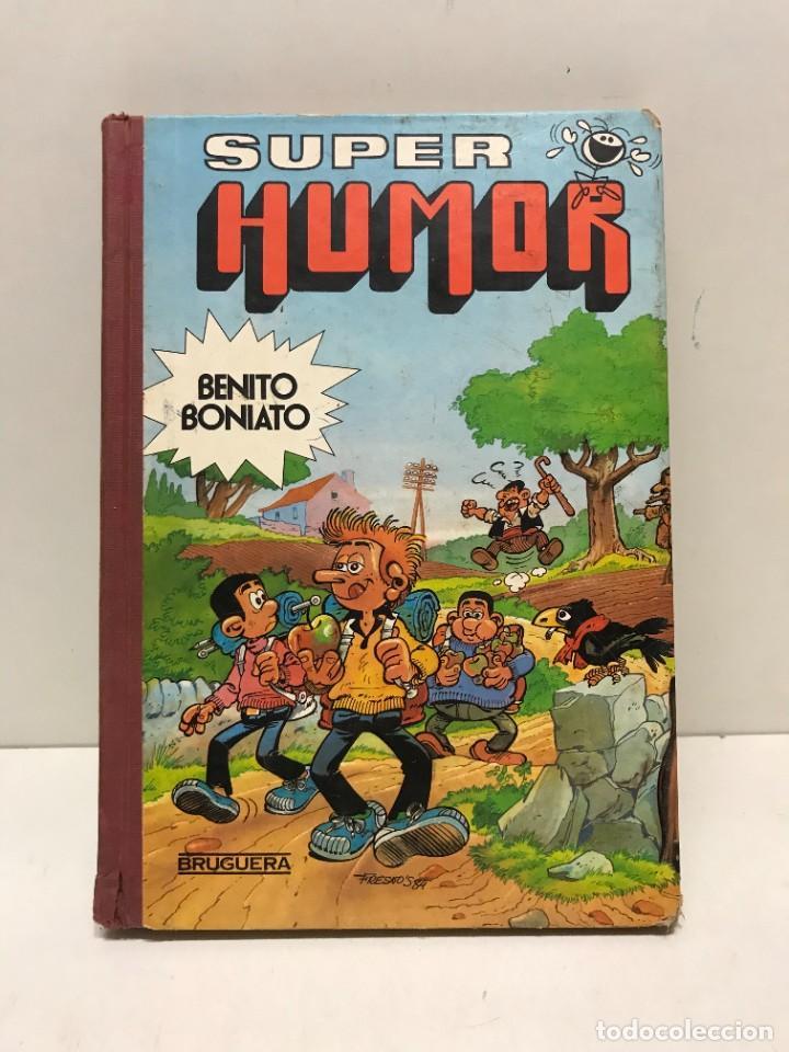 SUPER HUMOR BENITO BONIATO Nº 2 BRUGUERA 1ª EDICION ENERO DE 1985 (Tebeos y Comics - Bruguera - Super Humor)