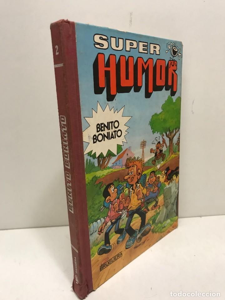 Tebeos: SUPER HUMOR BENITO BONIATO Nº 2 BRUGUERA 1ª EDICION ENERO DE 1985 - Foto 2 - 244515065