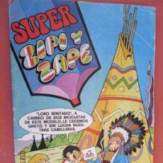 Tebeos: SUPER ZIPI Y ZAPE Nº 86 AGOSTO1980 - BRUGUERA. Lote 244607630