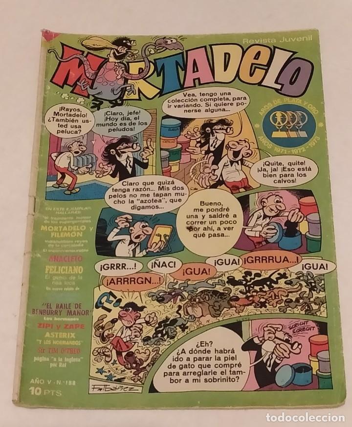 MORTADELO Nº 188 BRUGUERA. AÑO 1974 (Tebeos y Comics - Bruguera - Mortadelo)