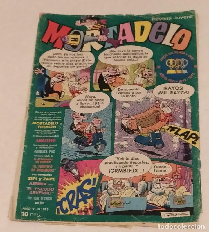 MORTADELO Nº 193 BRUGUERA. AÑO 1974 (Tebeos y Comics - Bruguera - Mortadelo)