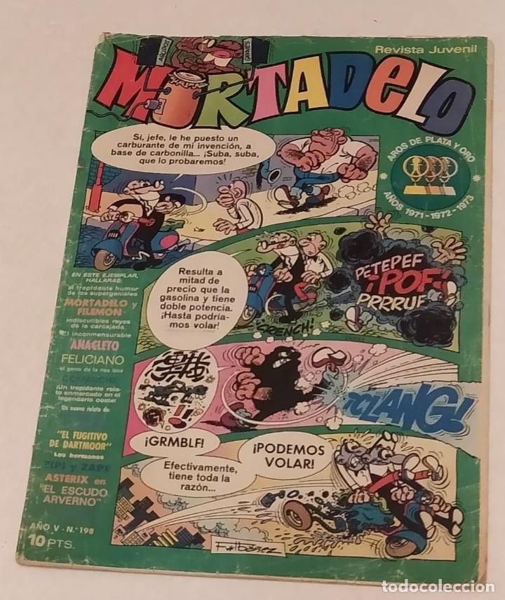 MORTADELO Nº 198 BRUGUERA. AÑO 1974 (Tebeos y Comics - Bruguera - Mortadelo)