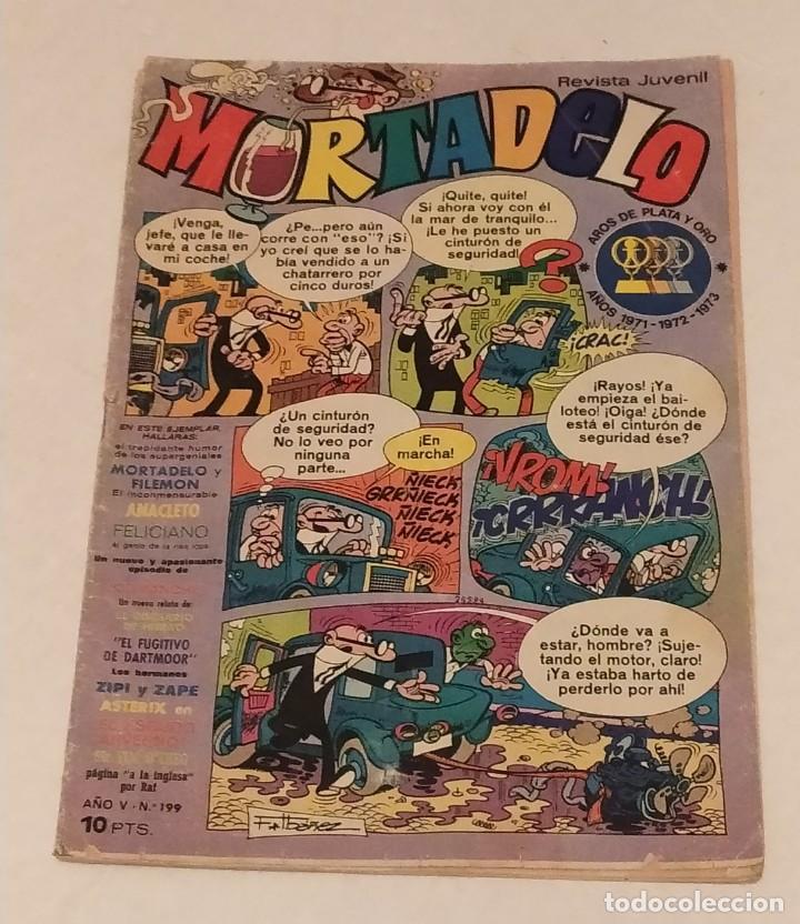 MORTADELO Nº 199 BRUGUERA. AÑO 1974 (Tebeos y Comics - Bruguera - Mortadelo)