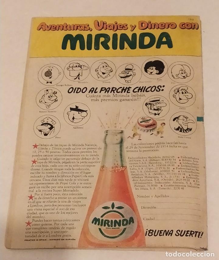Tebeos: MORTADELO Nº 199 BRUGUERA. AÑO 1974 - Foto 3 - 244617430