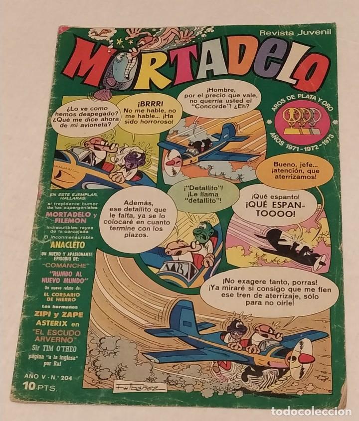 MORTADELO Nº 204 BRUGUERA. AÑO 1974 (Tebeos y Comics - Bruguera - Mortadelo)
