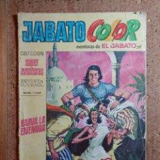 Tebeos: COMIC DE JABATO COLOR EN HAINA LA ENEMIGA DEL AÑO VIII Nº 1722. Lote 244626765