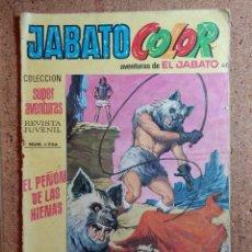 Tebeos: COMIC DE JABATO COLOR EN EL PEÑON DE LAS HIENAS DEL AÑO VIII Nº 1724. Lote 244626795
