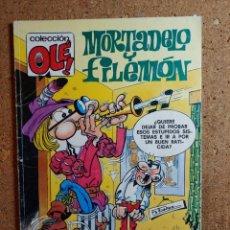 Livros de Banda Desenhada: COMIC DE MORTADELO Y FILEMON Y PEPE GOTERA Y OTILIO DEL AÑO 1991 Nº 1 - M.200. Lote 244626900