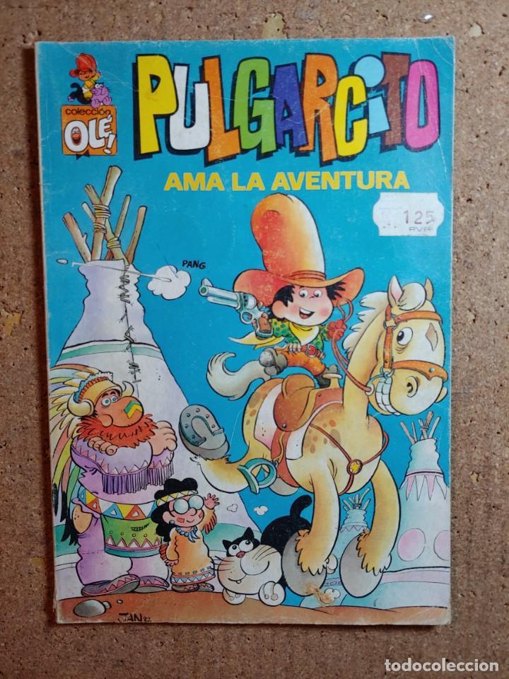 COMIC DE OLE PULGARCITO EN AMA LA AVENTURA DEL AÑO 1982 Nº 5 (Tebeos y Comics - Bruguera - Ole)