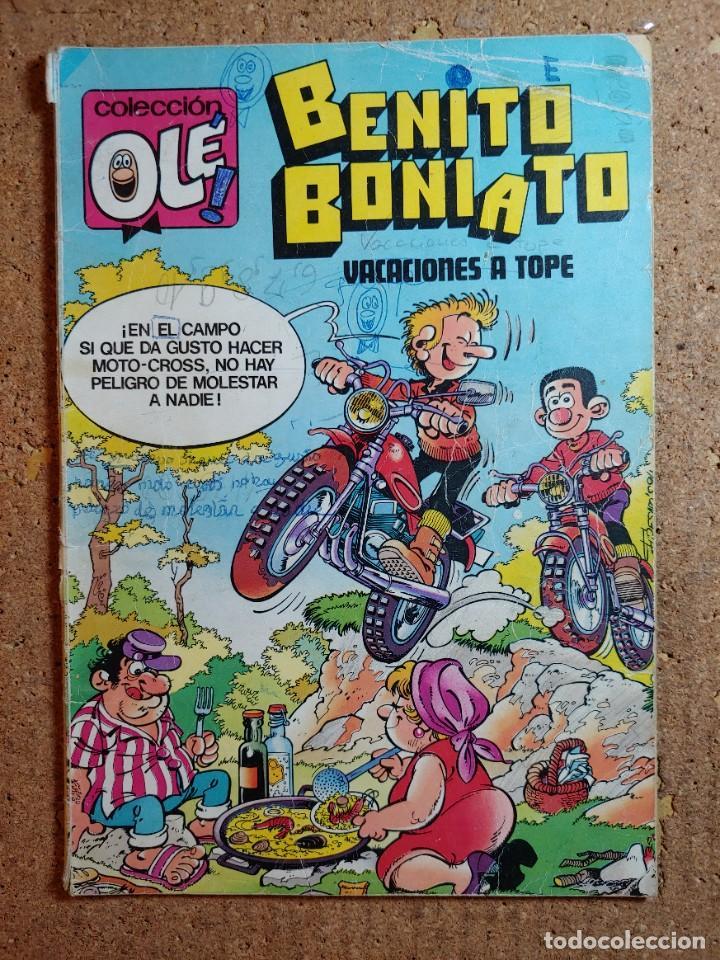 COMIC DE BENITO BONIATO EN VACACIONES A TOPE DEL AÑO 1984 Nº 7 (Tebeos y Comics - Bruguera - Ole)