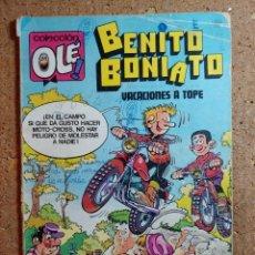 Tebeos: COMIC DE BENITO BONIATO EN VACACIONES A TOPE DEL AÑO 1984 Nº 7. Lote 244627065