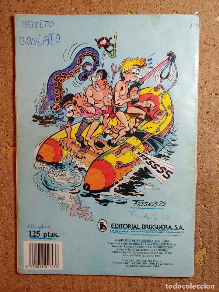 Tebeos: COMIC DE BENITO BONIATO EN VACACIONES A TOPE DEL AÑO 1984 Nº 7 - Foto 2 - 244627065