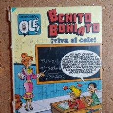 Tebeos: COMIC DE BENITO BONIATO EN VIVA EL COLE DEL AÑO 1984 Nº 9. Lote 244627090