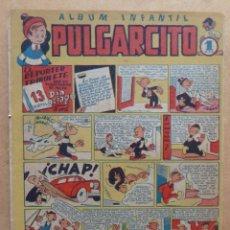 Tebeos: PULGARCITO Nº 25 ALBUM INFANTIL, CON INSPECTOR DAN, BRUGUERA. Lote 244662820