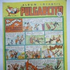 Tebeos: ALBUM INFANTIL PULGARCITO Nº 118 D. BERRINCHE LLEVA SIEMPRE LA CONTRARIA AÑOS 40 ORIGINAL MIDE 24 X. Lote 244671880