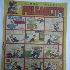 Tebeos: ALBUM INFANTIL PULGARCITO Nº 44 HELIODORO HIPOTENUSO COLOCA UNA CERRADURA AÑOS 40 ORIGINAL MIDE 24 X. Lote 244673850