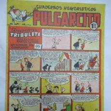 Tebeos: CUADERNOS HUMORISTICOS PULGARCITO Nº 156 EL REPORTER TRIBULETE QUE EN TODAS PARTES SE METE UN HOMBRE. Lote 244679850