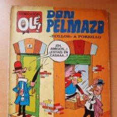 """Tebeos: OLÉ 42 DON PELMAZO """"ROLLOS A PORRILLO"""". 1ª EDICIÓN (1971) RAF. Lote 244694560"""